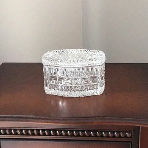 Vintage Crystal Trinket Box